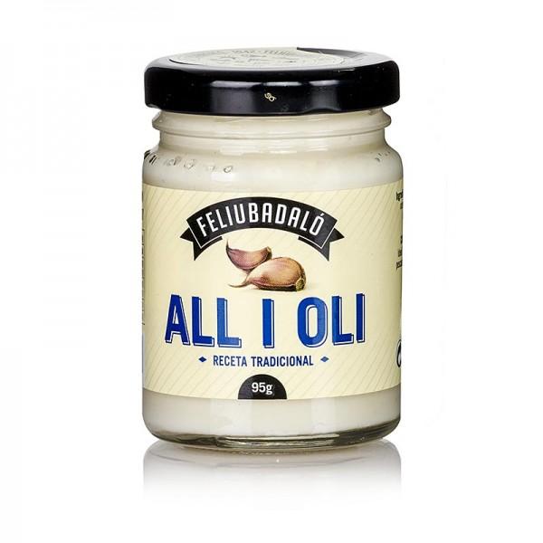Feliubadalo - Allioli - Knoblauchcreme mit Pflanzenöl
