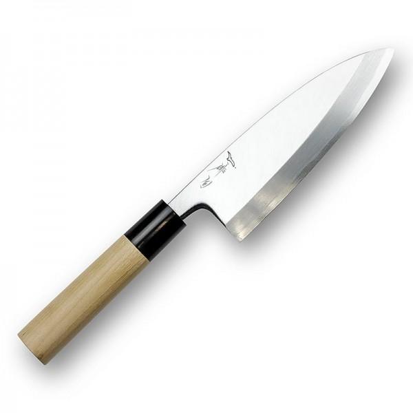 Haiku Pro - Haiku Pro HP-5 Deba Fischmesser 15cm einseitiger Schliff Holzbox/Öl/Tuch