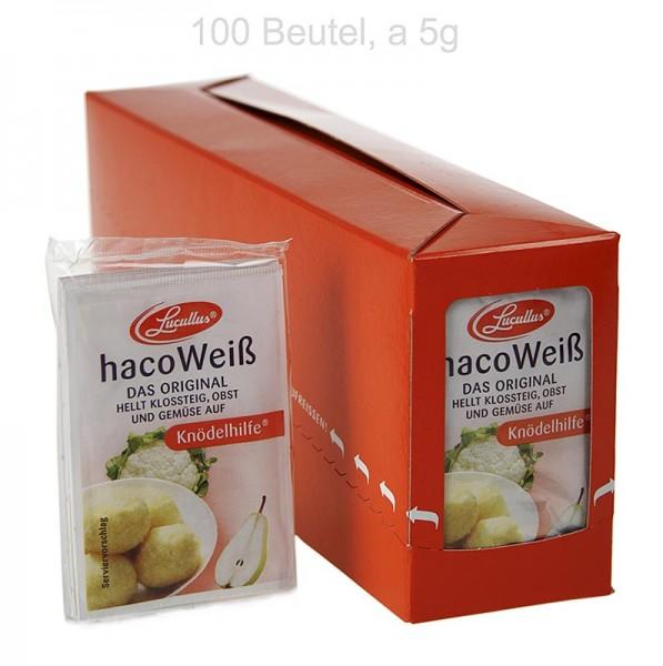 Haco Weiß - Haco Weiß Kartoffel Früchte & Gemüse Bleichmittel - Knödelhilfe