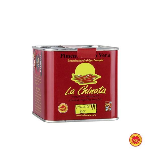 La Chinata - Paprikapulver - Pimenton de la Vera D.O.P. geräuchert scharf Spanien