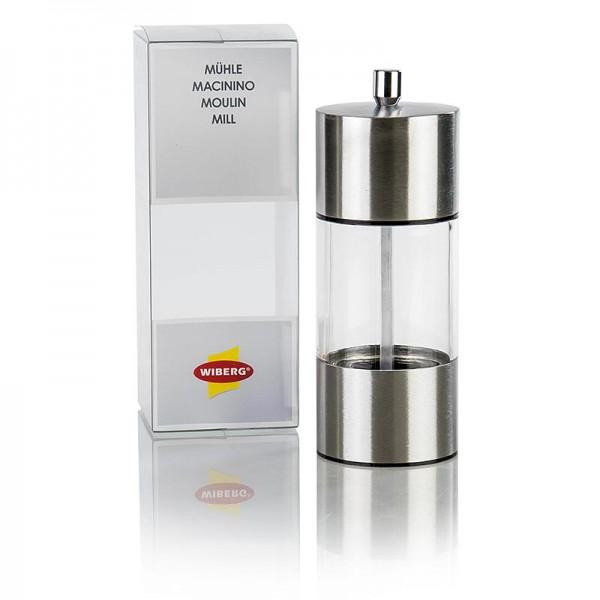 Wiberg - Acrylmühle Keramik-Mahlwerk ohne Inhalt 14.5cm