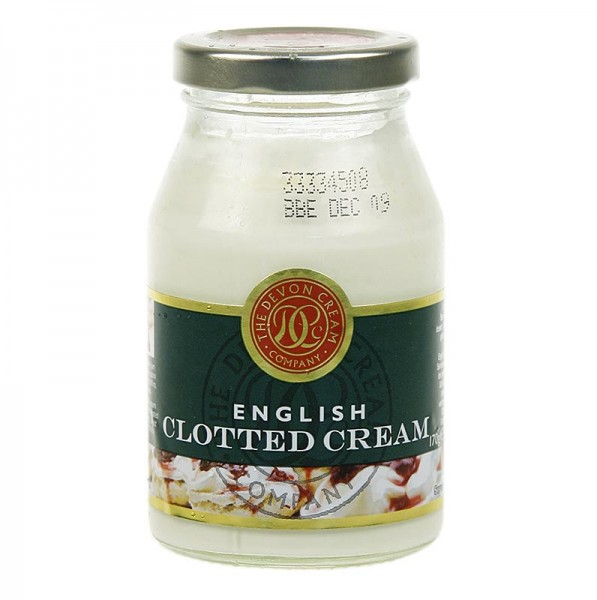 The Devon Cream Company - Englische Clotted Cream feste Rahm-Creme 55% Fett