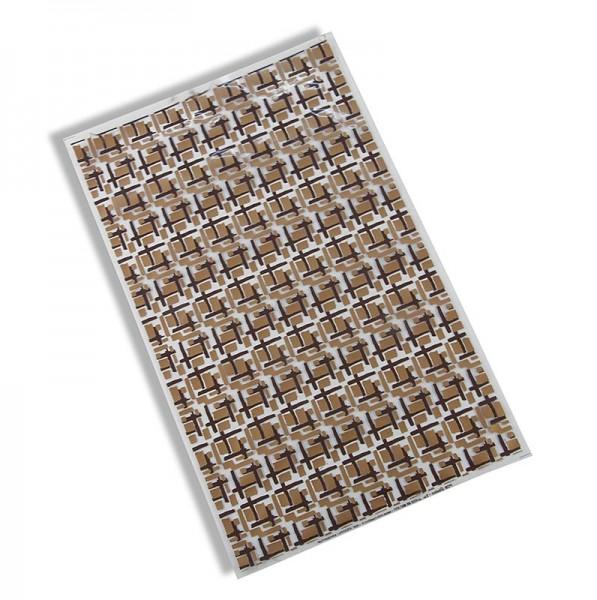 Deli-Vinos Patisserie - Dekor-Abziehfolie Labyrinth für Schokolade 40x25cm