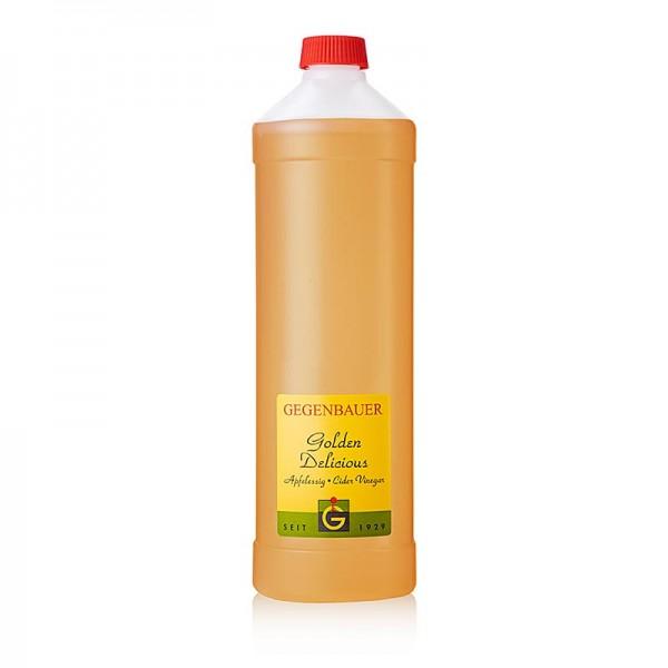 Gegenbauer Essige - Gegenbauer Frucht Essig Apfel Golden Delicious 5% Säure 1L Flasche