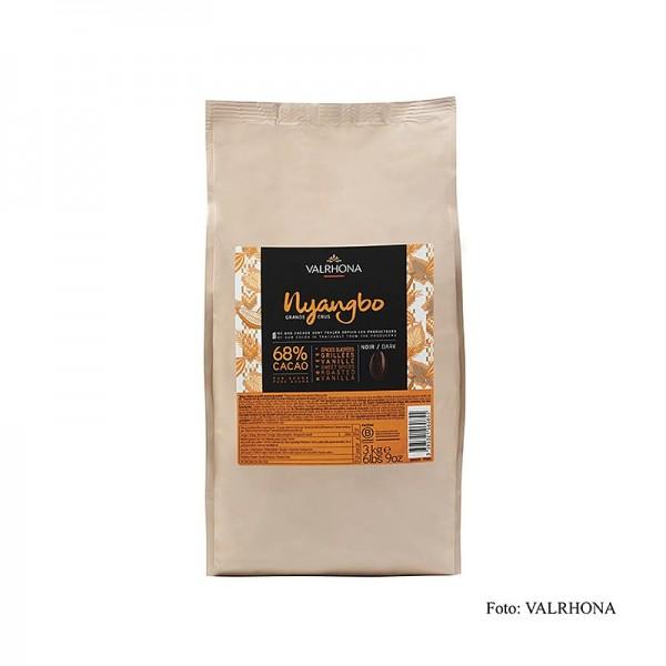 Valrhona - Nyangbo Grand Cru dunkle Couverture Callets 68% Kakao Ghana