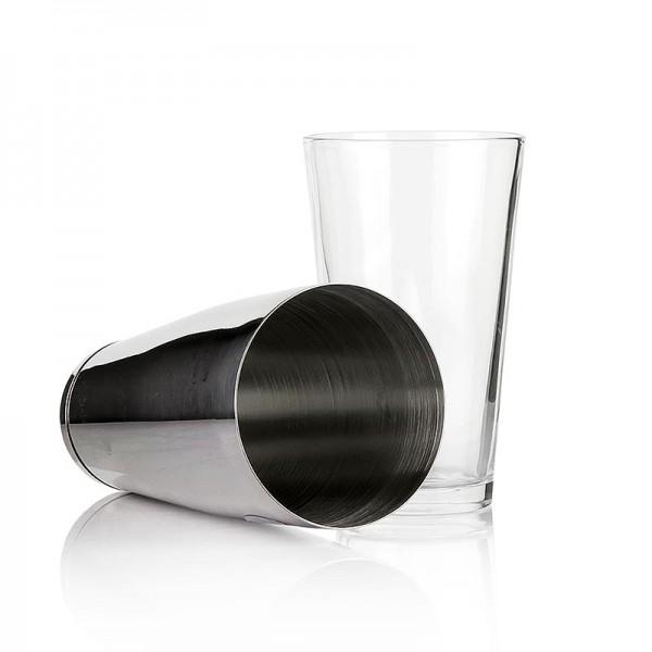 Assheuer + Pott - Cocktail Shaker Boston 2 teilig Edelstahl