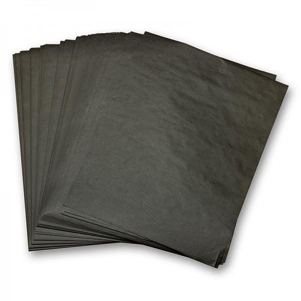 Deli-Vinos Kitchen Accessories - Einschlagpapier fettbeständig Zuschnitte schwarz 28x38cm
