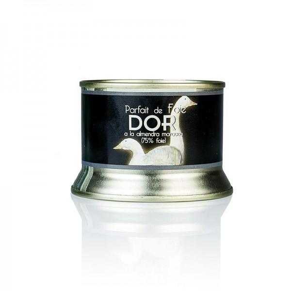 Intercoop - DOR Entenleberpastete mit Marcona Mandeln 75% Foie Gras Spanien
