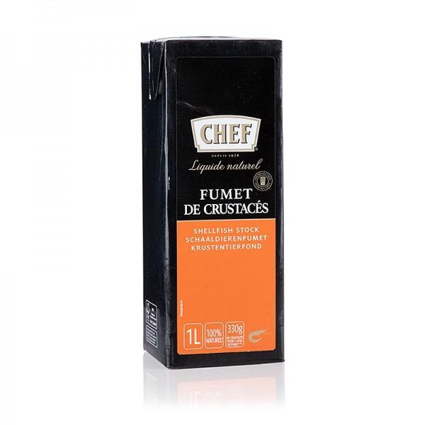 Chef Fond Premium - CHEF Premium - Krustentierfond flüssig küchenfertig