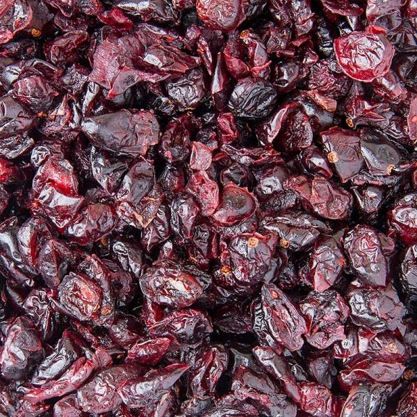 Deli-Vinos Obstgarten - Cranberries/Moosbeeren getrocknet ungeschwefelt gesüßt hell USA