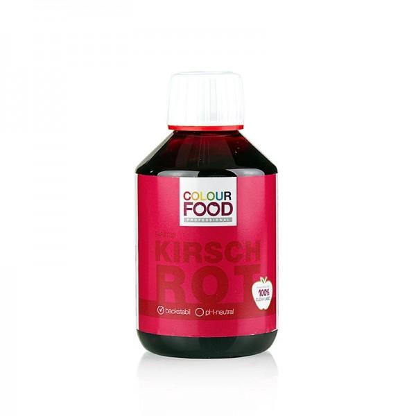 Colour Food - Colour Food Lebensmittelfarbe - Kirsch Rot flüssig vegan