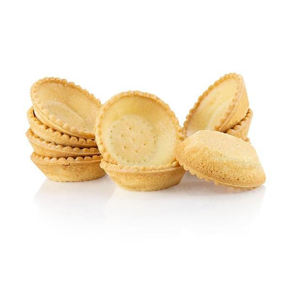 Hug - Dessert-Tartelettes rund ø 7cm H 2cm Mürbeteig
