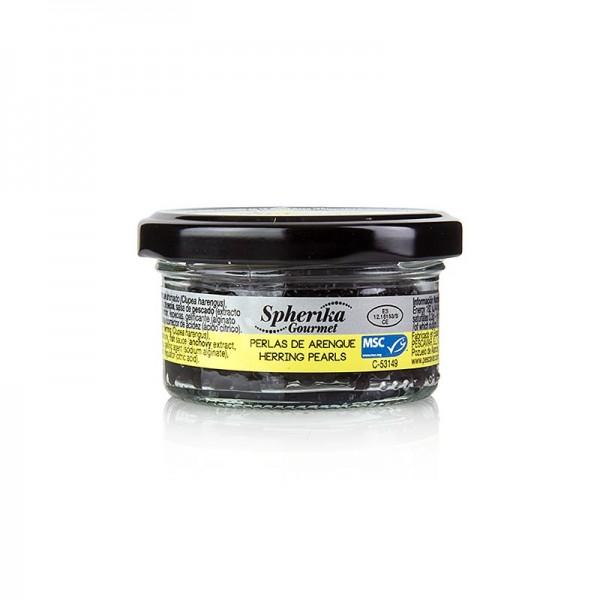 Spherika Gourmet - Herings Perlen schwarz (wie Kaviar/ Spähren)