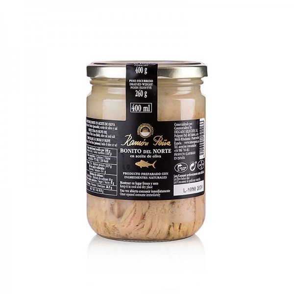 Ramon Pena Gold - Weißer Thunfisch Bonito del Norte Rückenfleisch Olivenöl RAMON PEÑA GOLD