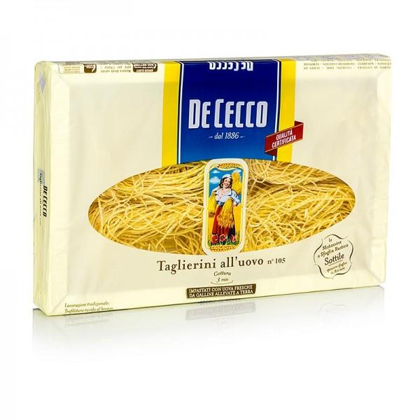 De Cecco - De Cecco Taglierini mit Ei No.105