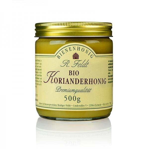 R. Feldt Bienenhonig - Feldt Koriander-Honig Karpaten hell feincremig würzig BIO