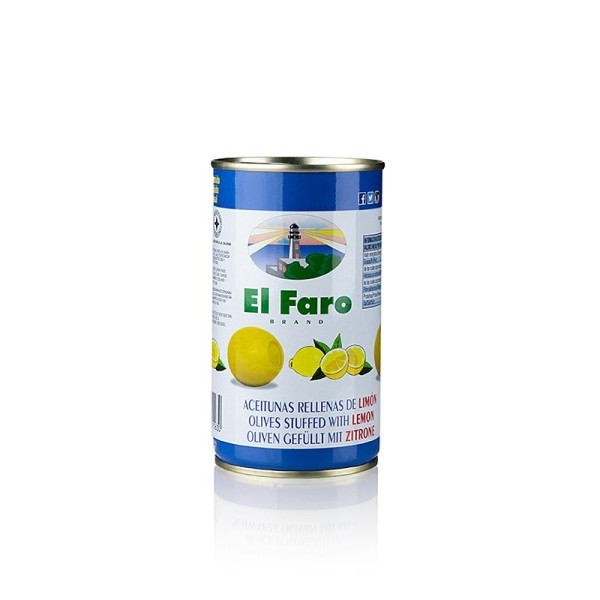 El Faro - Grüne Oliven mit Zitronenpaste in Lake El Faro