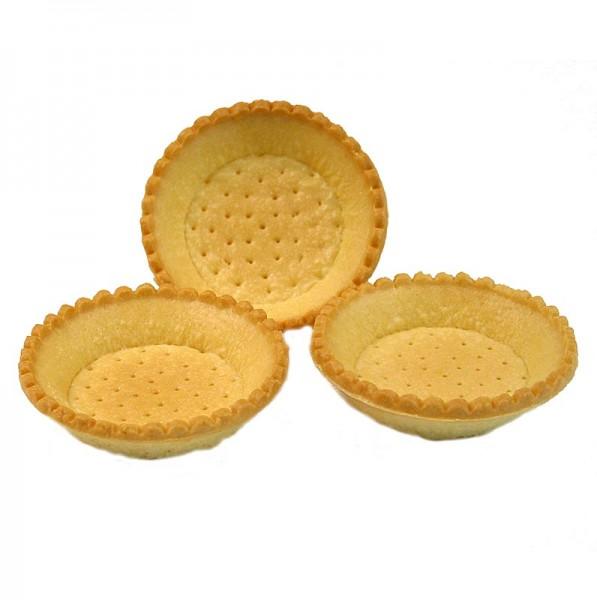 Hug - Dessert-Tartelettes rund ø 9cm H 2cm Mürbeteig