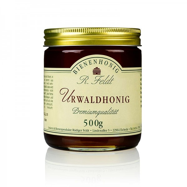 R. Feldt Bienenhonig - Urwald-Honig flüssig bis cremig lieblich aromatisch