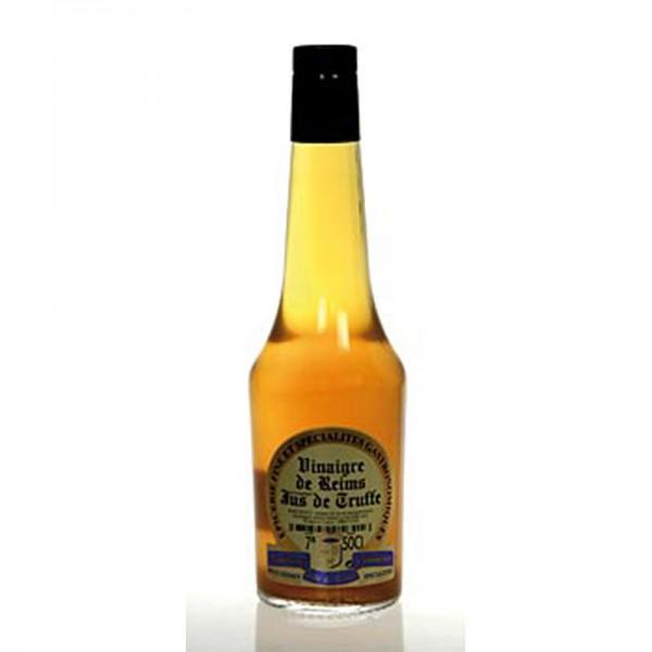 Soripa - Vinaigre de Reims - Champagner Essig mit Jus von schwarzen Trüffeln Soripa