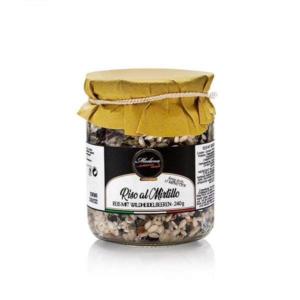 Amore Mio Modena - Reis mit Wildheidelbeeren Amore Mio