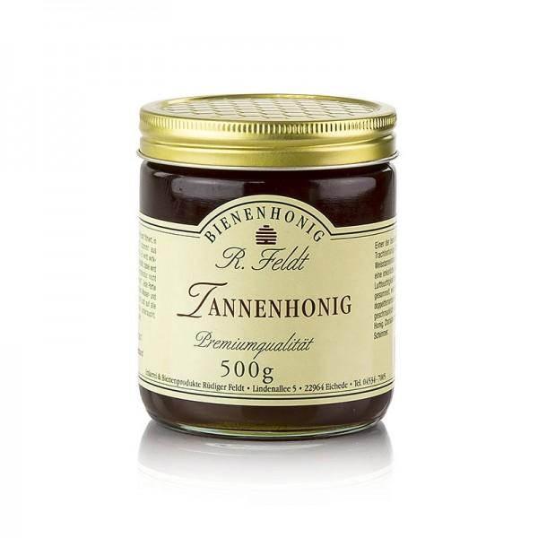 R. Feldt Bienenhonig - Tannen-Honig Deutschland echte Weißtanne schwarz flüssig malzig würzig