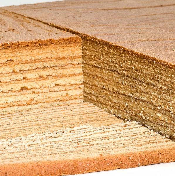 Manni-s Laden - Baumkuchenplatte handgestrichen 32x26x4.5cm TK
