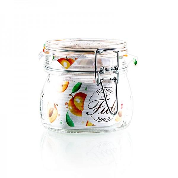 Fido - Drahtbügelglas Fido 0.5 Liter rund
