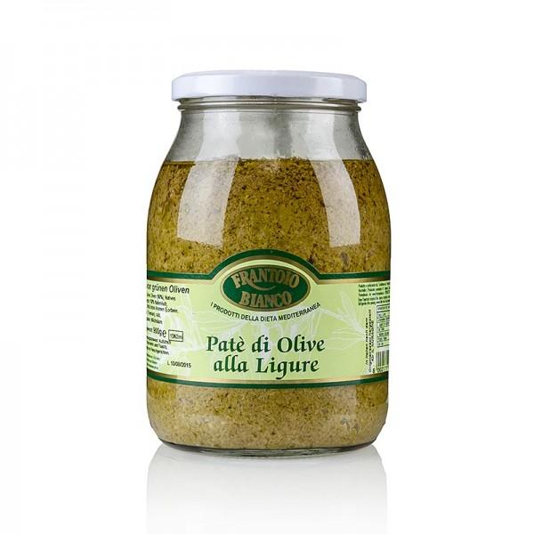 Frantoio Bianca - Oliven-Paste - Tapenade grün