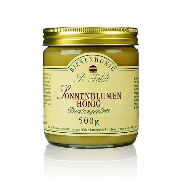 R. Feldt Bienenhonig - Sonnenblumen-Honig sonnengelb feincremig mild aromatisch