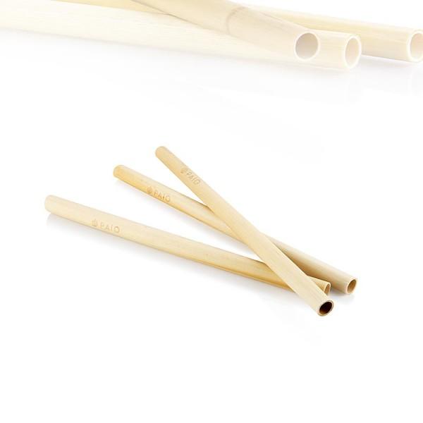 Paio - Trinkhalme aus Schilf - Smoothie - 18cmx10mm wiederverwendbar Paio