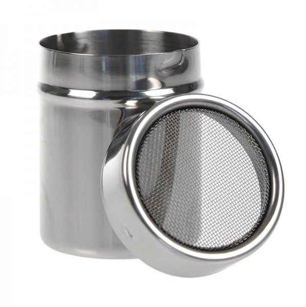 Deli-Vinos Kitchen Accessories - Puderzucker Streuer mit Drahtfeinsieb (Gewürzstreuer) sehr gute Qualität