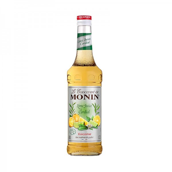 Monin - Lime Juice - Cordial Mixer Limonensaft