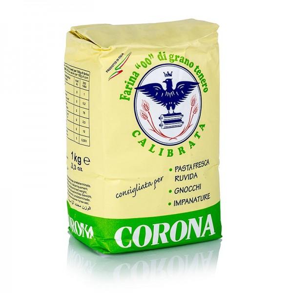 Corona - Nudel Mehl Tipo 00 Farina Calibrata für raue Nudeln u. Gnocci