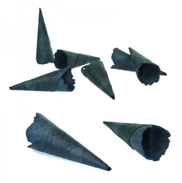 Sosa - Mini-Hörnchen - Waffelcornets süß blau gefärbt ø 2.4x7.5cm Sosa
