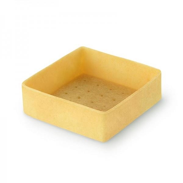 Filigrano - Dessert-Tartelettes - Filigrano Quadrat 5.3cm H 1.8cm Mürbeteig