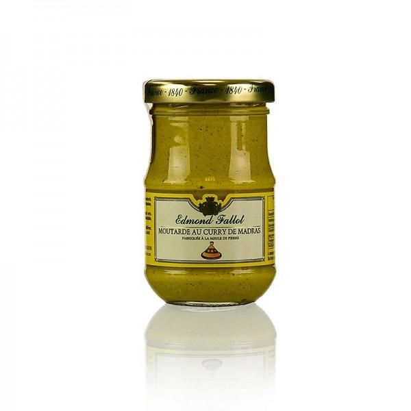 Fallot - Dijon Senf mit Curry Madras grob scharf Fallot