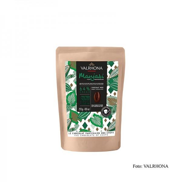 Valrhona - Valrhona Manjari Bitterschokolade 64% Callets