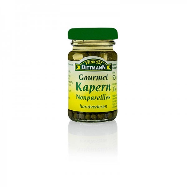 Feinkost Dittmann - Kapern Nonpareilles ø 4-7mm Dittmann