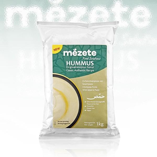 mézete - Hummus Classic Kichererbsenpüree mit Sesampaste mézete