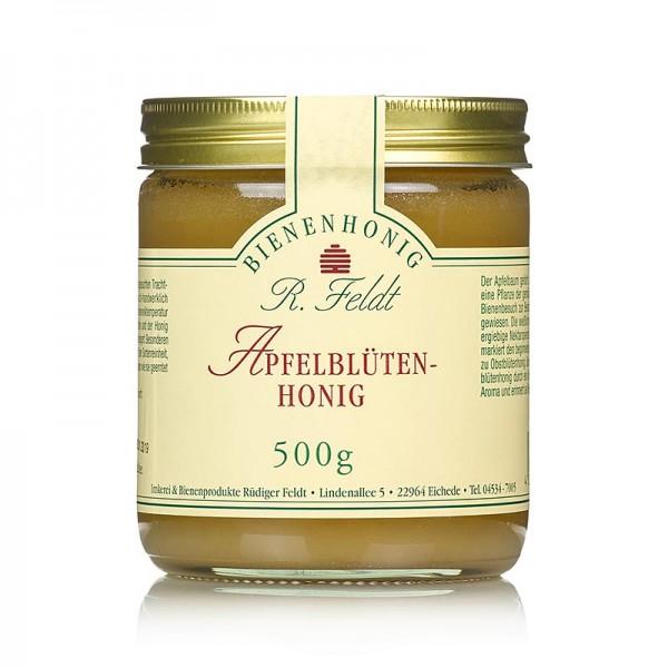 R. Feldt Bienenhonig - Apfelblüten-Honig hell mild-cremig feines Apfelaroma selten