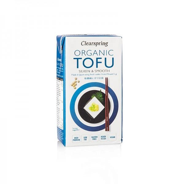Clearspring - Organic Japanese Tofu Seidentofu soft Clearspring BIO
