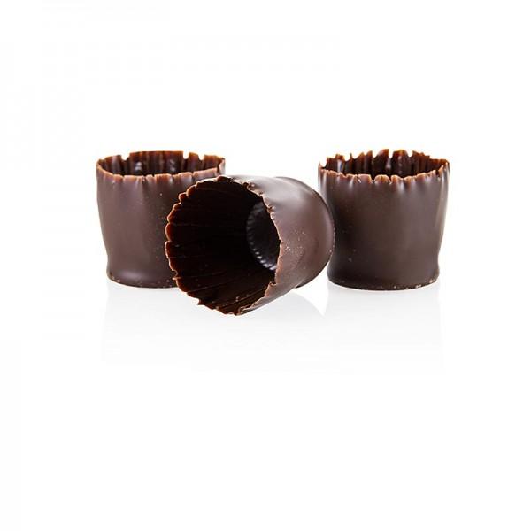Callebaut - Schokoform - Snobinettes dunkle Schokolade ø 23-27mm 26mm hoch