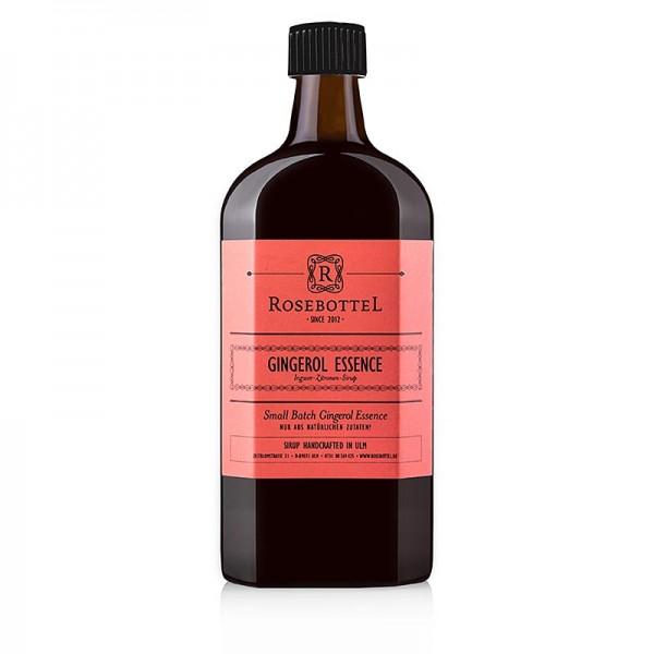 Rosebottel - Rosebottel Gingerol Essence (Essenz) Sirup