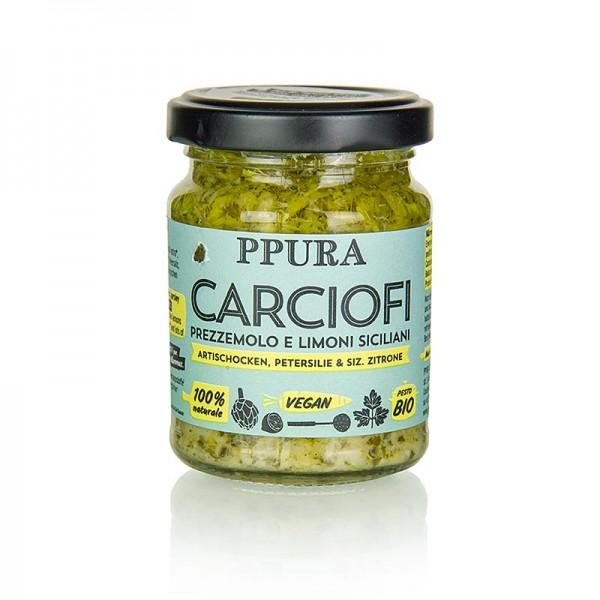 Ppura - Ppura Pesto von Artischocke Petersilie und Zitrone BIO