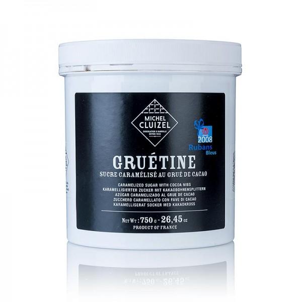 Michel Cluizel - Gruetine - Karamelisierte Kakao Grue (Kakaobrösel) Michel Cluizel