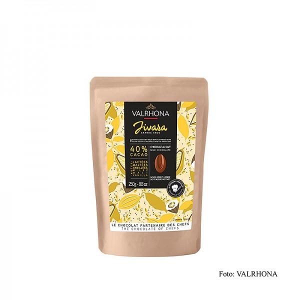 Valrhona - Valrhona Jivara Milchschokolade 40% Callets
