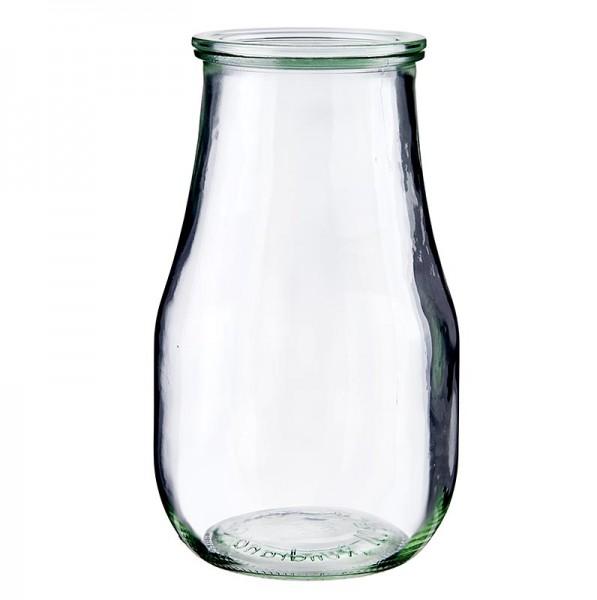 Weck - Tulpenform Glas 2.5 L ø 108mm ohne Klammern u. Gummiring Weck