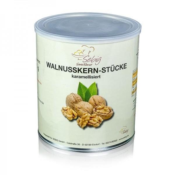 Deli-Vinos Snack Selection - Walnusskern-Stücke karamelisiert