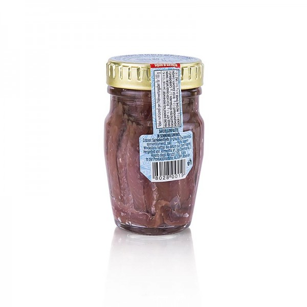 Deli-Vinos Sea Food - Sardellenfilets rot in Sonnenblumenöl